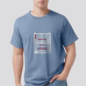I Engage Minds Learn Everyday I Teach Yoga T-Shirt