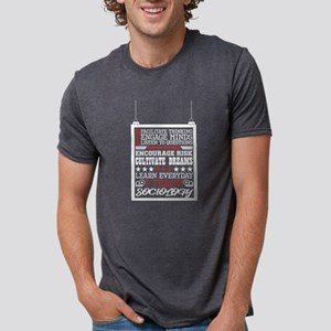 I Engage Minds Learn Everyday I Teach Soci T-Shirt