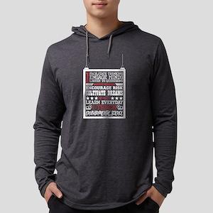 I Engage Minds Everyday I Teac Long Sleeve T-Shirt