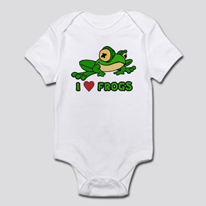 I Love Frogs Infant Creeper