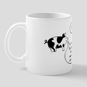 Schweine (black/white) Mug