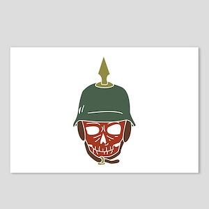 Pickelhaube Helmet Postcards (Package of 8)