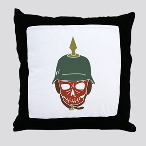 Pickelhaube Helmet Throw Pillow