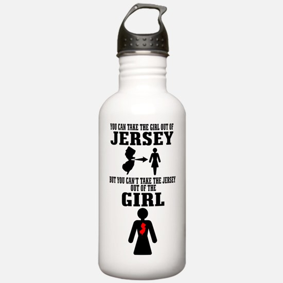 Cute Girl Sports Water Bottle