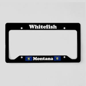 Whitefish MT License Plate Holder
