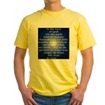 329. in the eyes of god... Yellow T-Shirt