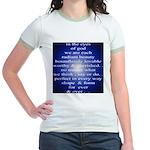 329. in the eyes of god... Jr. Ringer T-Shirt