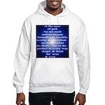 329. in the eyes of god... Hooded Sweatshirt