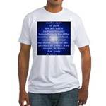 329. in the eyes of god... Fitted T-Shirt