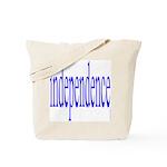 321. independence [blue] Tote Bag