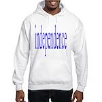 321. independence [blue] Hooded Sweatshirt