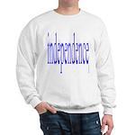 321. independence [blue] Sweatshirt
