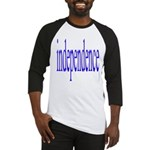 321. independence [blue] Baseball Jersey