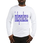 321. independence [blue] Long Sleeve T-Shirt