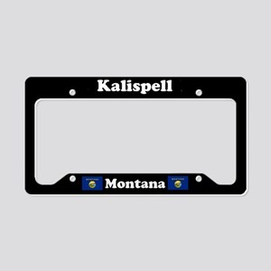 Kalispell MT License Plate Holder