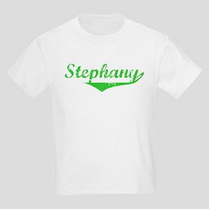 Stephany Vintage (Green) Kids Light T-Shirt