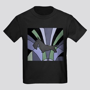 Scottish Terrier Art Deco T-Shirt