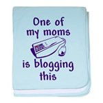 Blogging This baby blanket