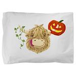 Wee Hamish Highland Cow Halloween Pillow Sham