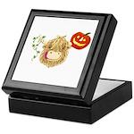 Wee Hamish Highland Cow Halloween Keepsake Box
