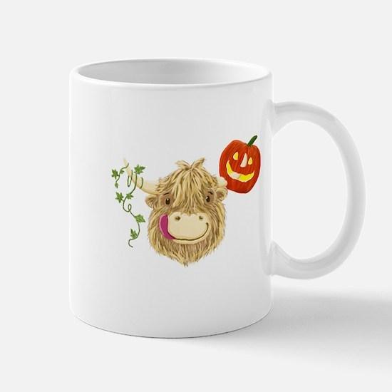 Wee Hamish Highland Cow Halloween Mugs