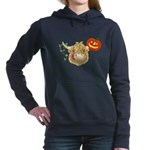 Wee Hamish Highland Cow Halloween Women's Hooded S