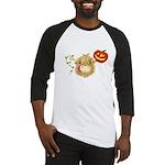 Wee Hamish Highland Cow Halloween Baseball Jersey