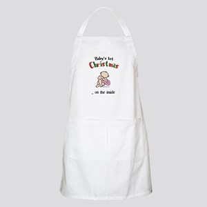 First christmas on the inside Apron