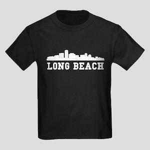 Long Beach CA Skyline T-Shirt