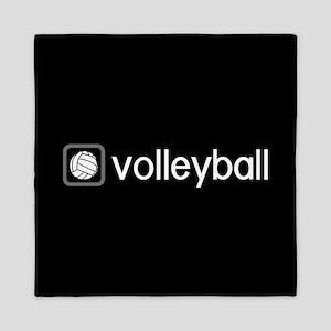 Volleyball (Grey) Queen Duvet