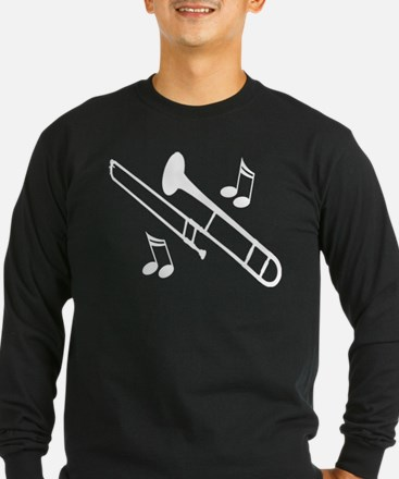 Trombone Player Gift Long Sleeve T-Shirt