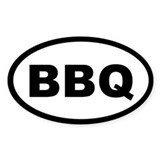 Bbq oval 10 Pack