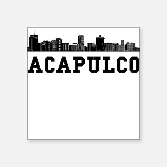 Acapulco Mexico Skyline Sticker