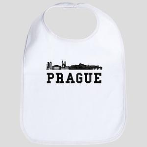 Prague Czech Republic Skyline Bib