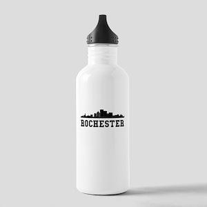 Rochester NY Skyline Water Bottle