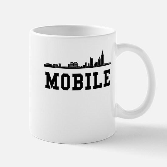 Mobile AL Skyline Mugs