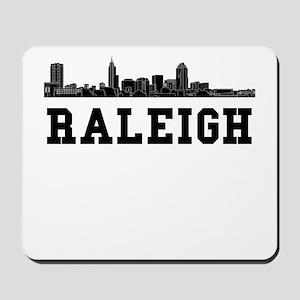 Raleigh NC Skyline Mousepad