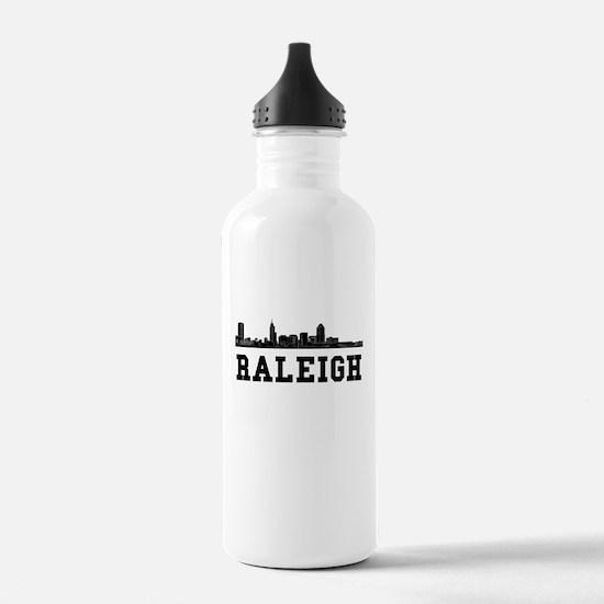 Raleigh NC Skyline Water Bottle