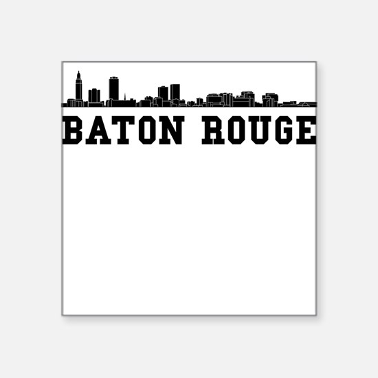 Baton Rouge LA Skyline Sticker