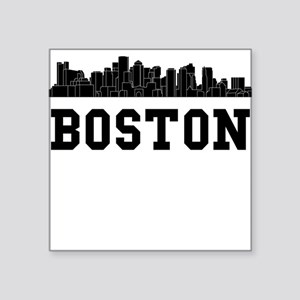 Boston MA Skyline Sticker
