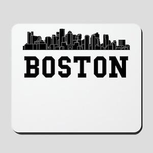 Boston MA Skyline Mousepad
