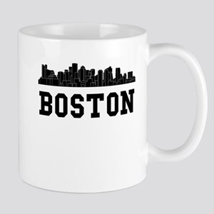 Boston MA Skyline Mugs