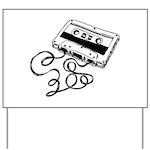 Mixtape Symbol Yard Sign