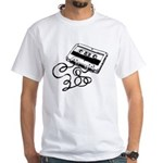Mixtape Symbol White T-Shirt