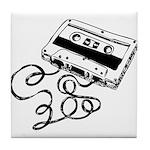 Mixtape Symbol Tile Coaster
