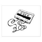 Mixtape Symbol Small Poster