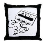 Mixtape Symbol Throw Pillow