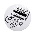 Mixtape Symbol Ornament (Round)