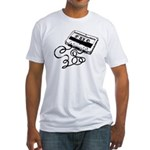 Mixtape Symbol Fitted T-Shirt