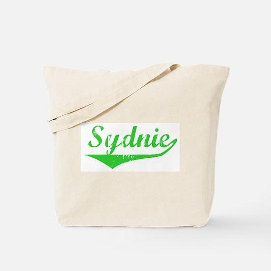 Sydnie Vintage (Green) Tote Bag